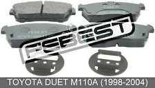 Pad Kit, Disc Brake, Front - Kit For Toyota Duet M110A (1998-2004)