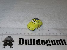 Official Disney Pixar Cars Luigi Yellow Fiat Vehicle Diecast USA Toy