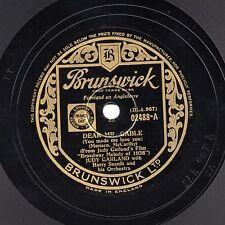 Klassisch Judy Garland 78 Dear Mr. Gable / You Can'T Have Alles Bruns 02488 V +