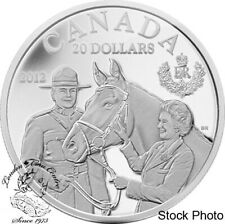 Canada 2012 $20 Queen's Visit to Canada Silver Coin