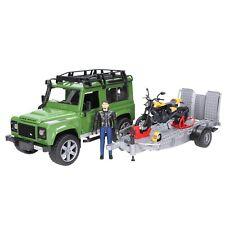 BRUDER Land Rover Defender M. Anhänger0 2589