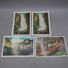 Lot of 4 Postcards Yosemite National Park California