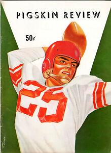1956--USC (JON ARNETT-C.R. ROBERTS-HALL) v.OREGON ST.(FRANCIS)--PROGRAM--XLNT +