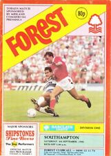 Nottingham Forest v Southampton Div One 1990 /91 - September 8th
