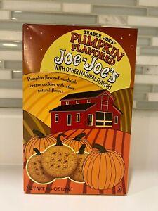 Trader Joes Pumpkin Flavored Joe Joe's Creme Sandwich Cookies Fall SEASONAL