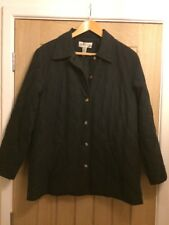 Womens Orvis Black Quilted Jacket / Coat - Size Medium MP