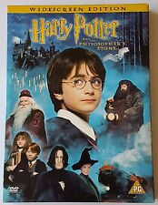 HARRY POTTER AND THE PHILOSOPHER'S STONE DVD 2 DISC SET WIDESCREEN (#DVD00455)