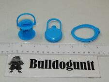 2004 Buckaroo Game Replacement Canteen Rope Lantern Blue Pieces Parts Only