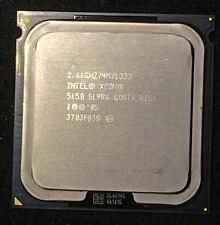 intel Xeon X 5150, two Cores, 4M Cache, 2.66 GHz, 1333 MHz, socket LGA771