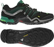 ADIDAS TERREX FAST X W HIKING BOOTS SHOES G64523 WOMENS SZ US 8.5 BLACK GREEN