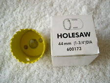 Bi - Metal Holesaw 44mm  A2 Arbour required. Good solid holesaw  By Thorsman
