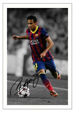 NEYMAR JR BARCELONA AUTOGRAPH SIGNED PHOTO PRINT SOCCER