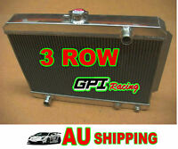 3 core HOLDEN Gemini TX TC TD TE TF TG RB 1975-1986 Manual Aluminum Radiator