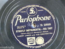 78rpm HARRY JAMES strictly instrumental / when you`re a long long way from home