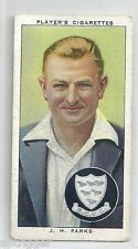 1938 John Player & Sons (18) J. H. PARKS Sussex & England