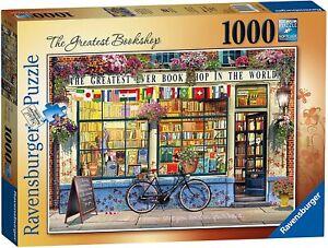 Ravensburger - The Greatest Bookshop Jigsaw Puzzle (1000 Pieces) 15337