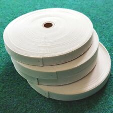 White ELASTIC tape  19mm.....100 metres.......... Great Price!