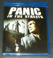 NEW Panic In The Streets (Blu-ray, 1950) Jack Palance, Elia Kazan, RARE SEALED