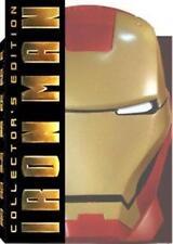 IRON MAN - Mask Packaging (DVD, 2008, 2-Disc Set) NEW