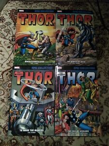 THOR Epic Collection LOT! 4 volumes! 2 3 4 5 TPB Set Marvel