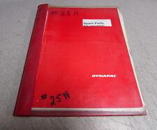 Dynapac CC 421 421C Vibr Combi Rollers Spare Parts Catalogue Manual S-232-4