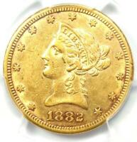 1882-CC Liberty Gold Eagle $10 Carson City Coin - PCGS AU Details - Rare Date!