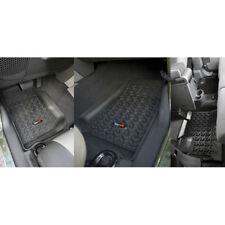 Fußmatten Fußschalen Set 3-teilig Jeep Wrangler JK 07-13 4-Türer 12987.01