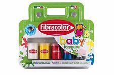 Fibracolor Baby Color Tempera Finger Paint Super Washable - Pack of 5