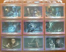 CORPSE BRIDE..45 CARD BASE/18 CARD GOLD CHASE SET..ENSKY JAPAN 2005..TIM BURTON