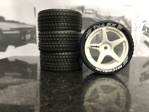 Tamiya tt/01 Retro Wheels With Tyres