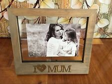 "I Love My Mum Photo Picture Frame 6"" x 4"" Mother's Day/Birthday Gift Present"