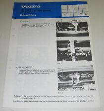 Einbauanleitung Volvo 244 245 Einbau Diesel Heizung Abgasanlage Stand 02/1983!