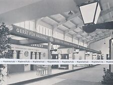 Wien - Internat. Herbstmesse - Gasgeräte - um 1939 - selten      I 17-4