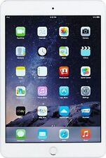 Apple iPad mini 3 128GB MH3M2LL/A Wi-Fi+CELLULAR Silver FREE EXPEDITED