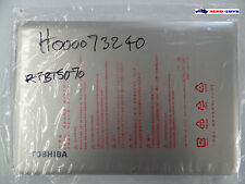 New Toshiba Satellite L10 Silver LCD Cover Assy H000073240 - Brand New