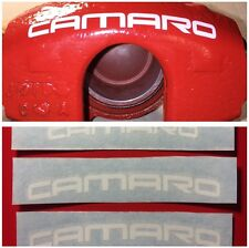 CAMARO SS RS Caliper Decals  - diff colors! HI TEMP.