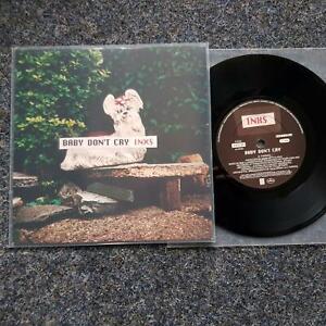 InXs - Baby don't cry UK 7'' Single