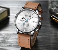 MvMt Style CHEETAH Chronograph Fashion Smart Casual Quartz Leather 2021 Watch