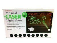 Mr. Christmas Musical Laser Light Show Birthday Halloween 18 Animated Musical
