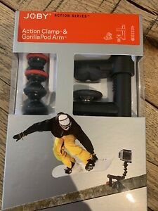 Joby Action Clamp & Gorillapod Arm Black/Red JB01280, London