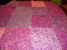 Chunky Patchwork Knit Blanket - Throw..