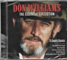 DON WILLIAMS - THE ESSENTIAL COLLECTION - CD   25 Crackin' Tracks !