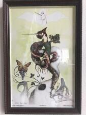 Signed and Inscribed - Greg Craola Simkins - Beacon - Hand Embellished Print.