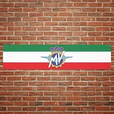 MV Agusta Banner Garage Workshop Motorcycle PVC Sign Trackside Display