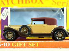 Vintage Matchbox Lesney 'Models of Yesteryear' 1930 PACKARD VICTORIA Y-15