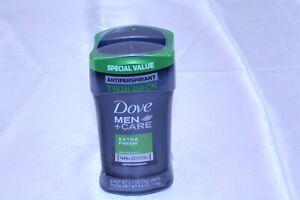 2 Pack Dove Men + Care Extra Fresh Antiperspirant 5.4 Oz Each