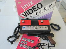 CONSOLE JEUX VIDEO UNIVOX  6 jeux + PISTOLET..Occasion.Vintage.Collection.