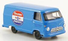 BUB Borgward B611 Van Firestone Phoenix (Blue) 1/87 HO Scale Plastic Model NEW!