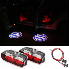 2x LED Door Laser Projector Light For VW Golf 5 6 7 Jetta MK5 CC Tiguan Passat..