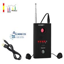 DETECTOR de CAMARAS OCULTAS Anti Espia Sistemas wifi RF Micrófonos Inalámbricos